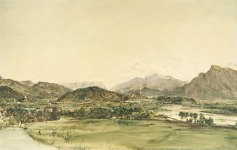 Blick auf Salzburg von Maria Plain