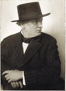 Der österreichische Maler Richard Teschner