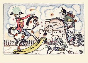 Wiener Werkstätte Postkarte Kindheitsträume (1)