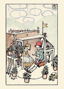 Wiener Werkstätte Postkarte Nr. 336