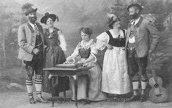 Tiroler Nationalsänger und Tänzer