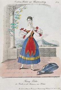 Fanny Elssler als Fenella