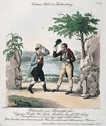 Szenenbild: Hutmacher und Strumpfwirker