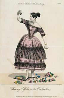 Fanny Elßler in der Cachucha