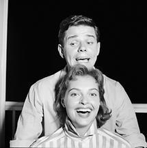 Nadja Tiller und Walter Giller