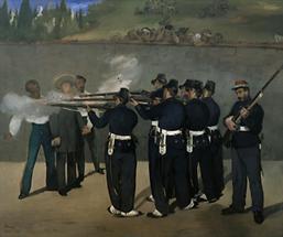 Die Hinrichtung von Kaiser Maximilian von Mexiko