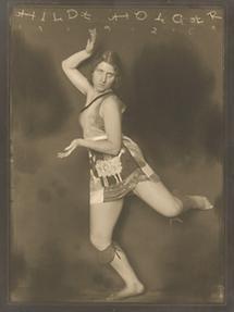Hilde Holger photographiert von Anton Josef Trcka