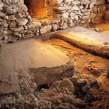 Grab eines Kriegers aus der Karolingerzeit