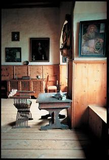 Erkerzimmer des Schloss Tratzberg in Tirol