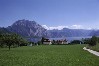Blick auf den Traunsee bei Gmunden