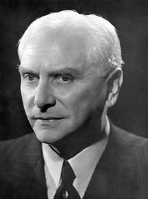 Der Schauspieler Otto Tressler