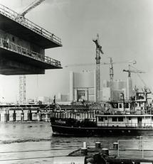 Der Neubau der Reichsbrücke