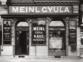 Julius oder Gyula Meinl Geschäft in Budapest