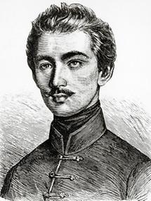 Der ungarische Dichter Sandor Petöfi