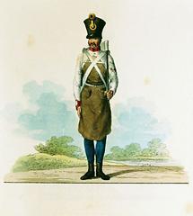 Uniformen der österreichischen Armee um 1823