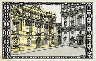 Alte Universität und Jesuitenkirche