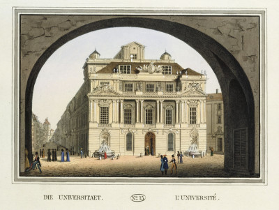Die Wiener Universität, © IMAGNO/Austrian Archives