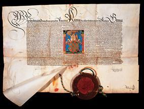 Wappenbrief König Ferdinands