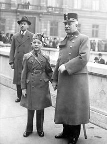 Vater und Sohn von Kurt Schuschnigg