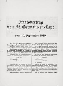 Staatsvertrag von St-Germain