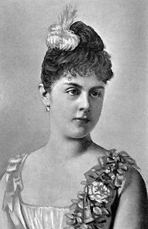 Portrait von Mary Freiin von Vetsera