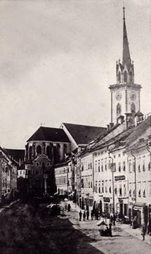 Stadtansicht von Villach