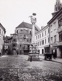 Stadtplatz in Villach