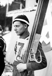 Skispringer Wiedemann
