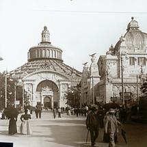 Das Westportal der Rotunde