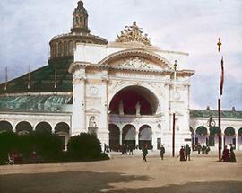 Das Südportal der Rotunde