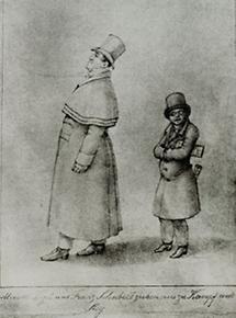 Johann Michael Vogl und Franz Schubert