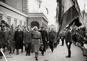 Schuschnigg 1938 in Innsbruck