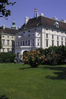 Hofburg mit Präsidentschaftskanzlei
