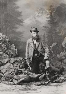 Salzburger Jäger im Atelier