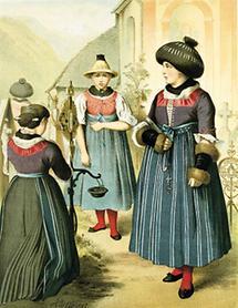 Bäuerliche Tracht aus Vorarlberg (2)