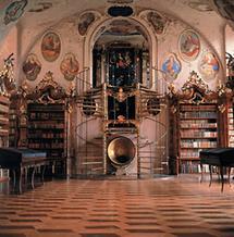 Bibliothek  des Augustiner-Chorherrenstifts in Vorau