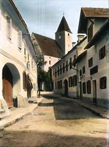 Gasse in Vorau