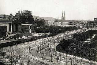 Die Ringstraße in Wien