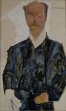 Bildnis  Otto Wagner
