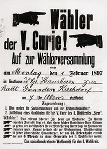 Einladung zur Wählerversammlung der Sozialdemokraten