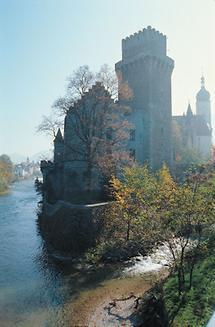 Das Schloss in Waidhofen