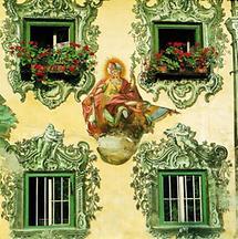 Hl. Florian am Gasthaus Schopfer in Walchsee