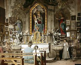 Altar in der Heiligen Brunnkapelle