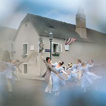 Ballett vor dem Beethoven-Haus in Wien