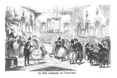 Maskenball im Diana-Saal, © IMAGNO/Austrian Archives