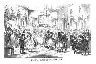 Maskenball im Diana-Saal
