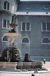 Residenzbrunnen in Salzburg