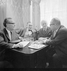 Heimito von Doderer und Hans Weigel