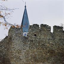 Kirchturm der Pfarrkirche von Weitra