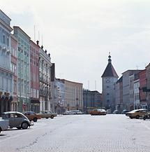 Der Stadtplatz in Wels